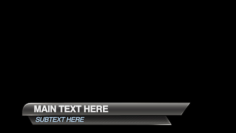 free lower third template